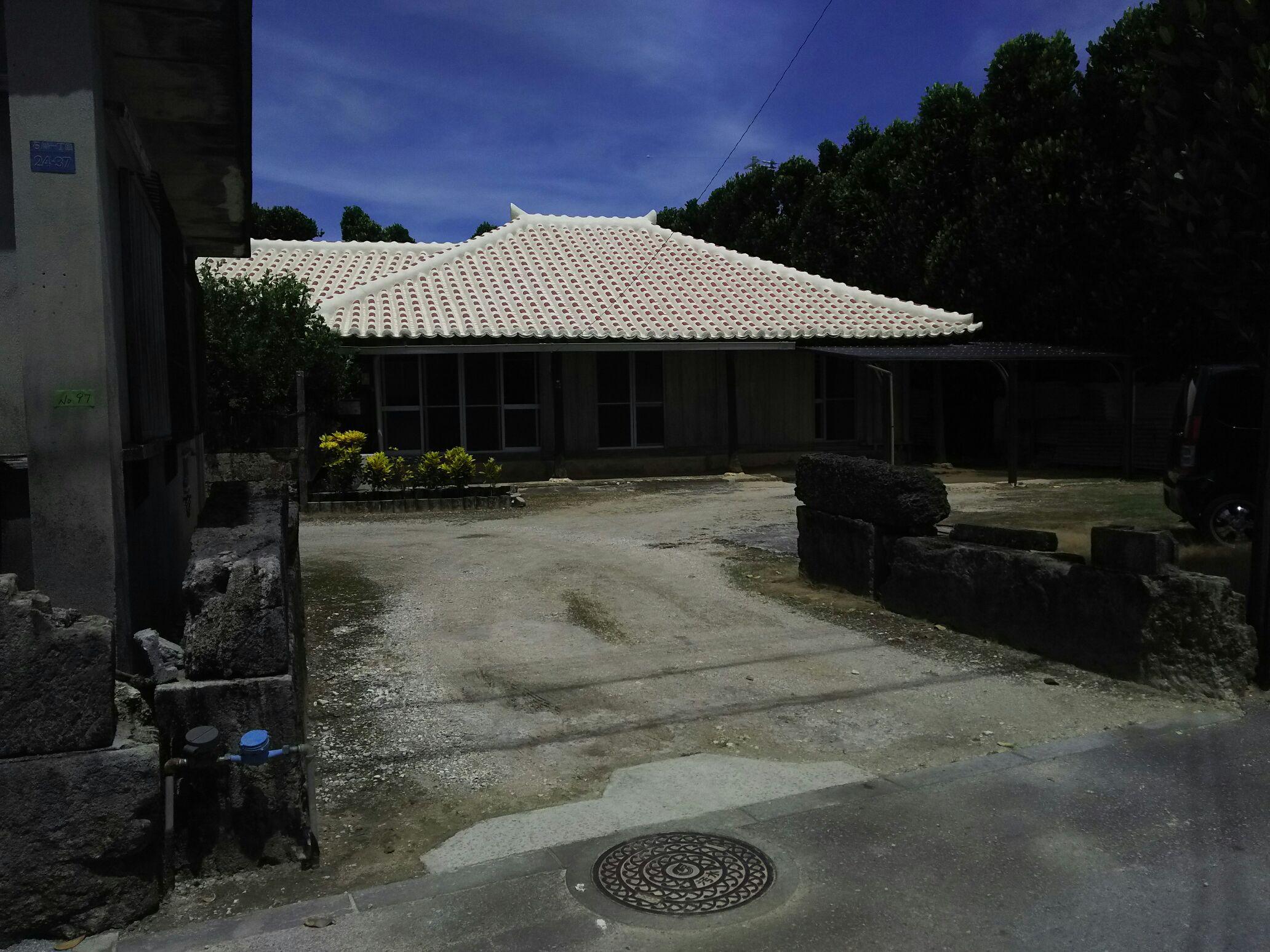 青空の下ポスティング行ってまいりました IN うるま市 @まかせて沖縄