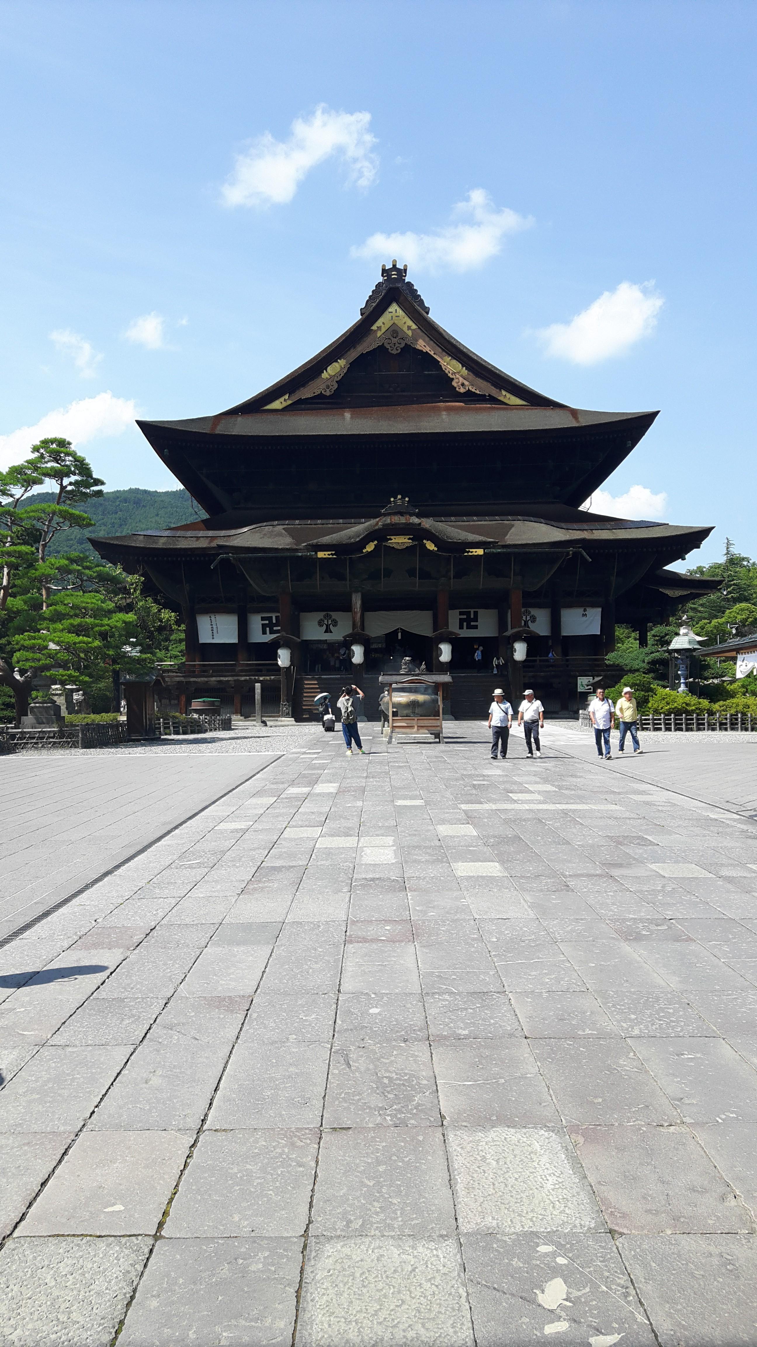 研修で長野市にきております。