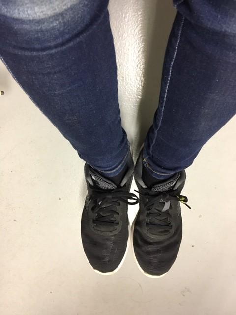 ポスティングの靴(●^o^●)