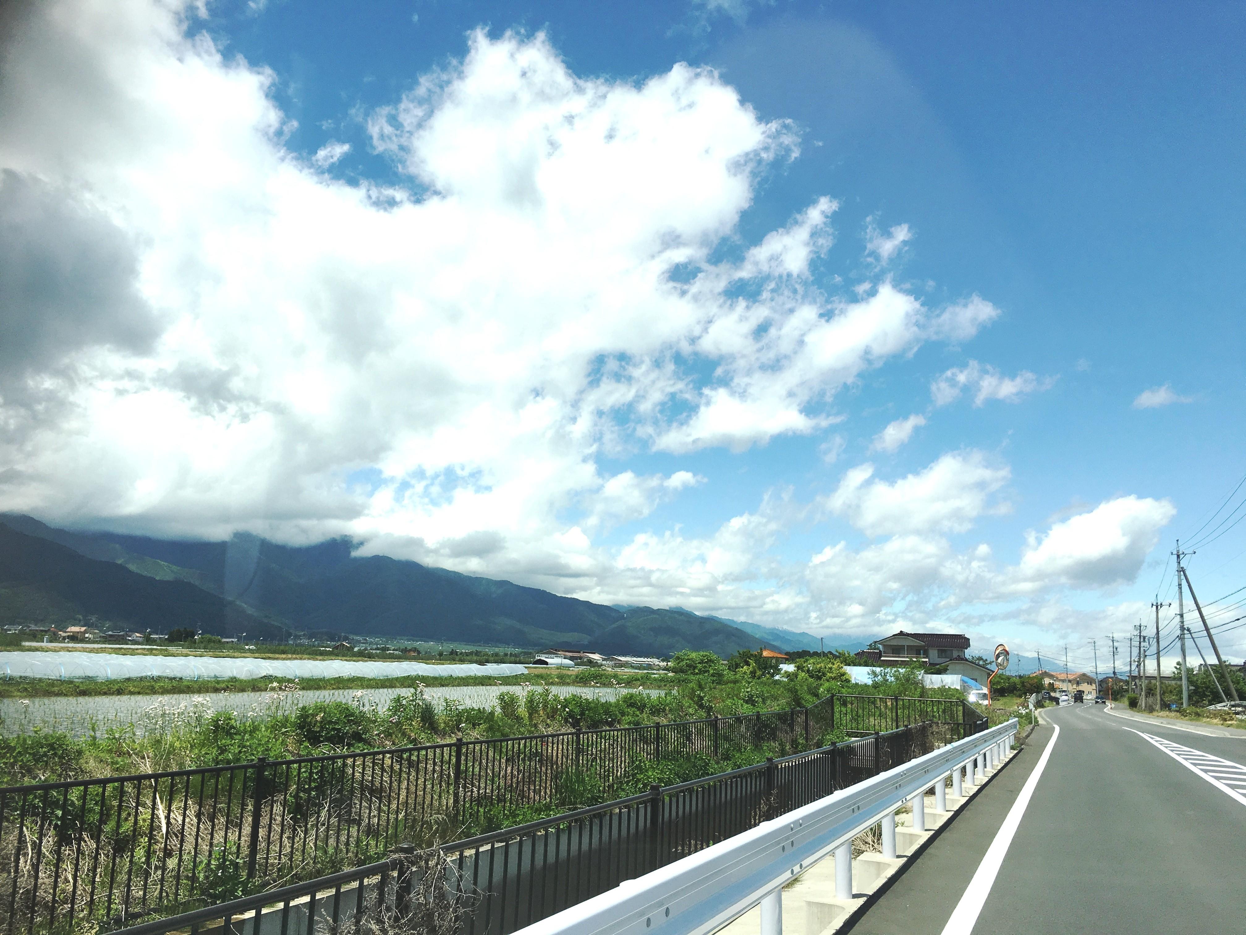 旧波田町へポスティング