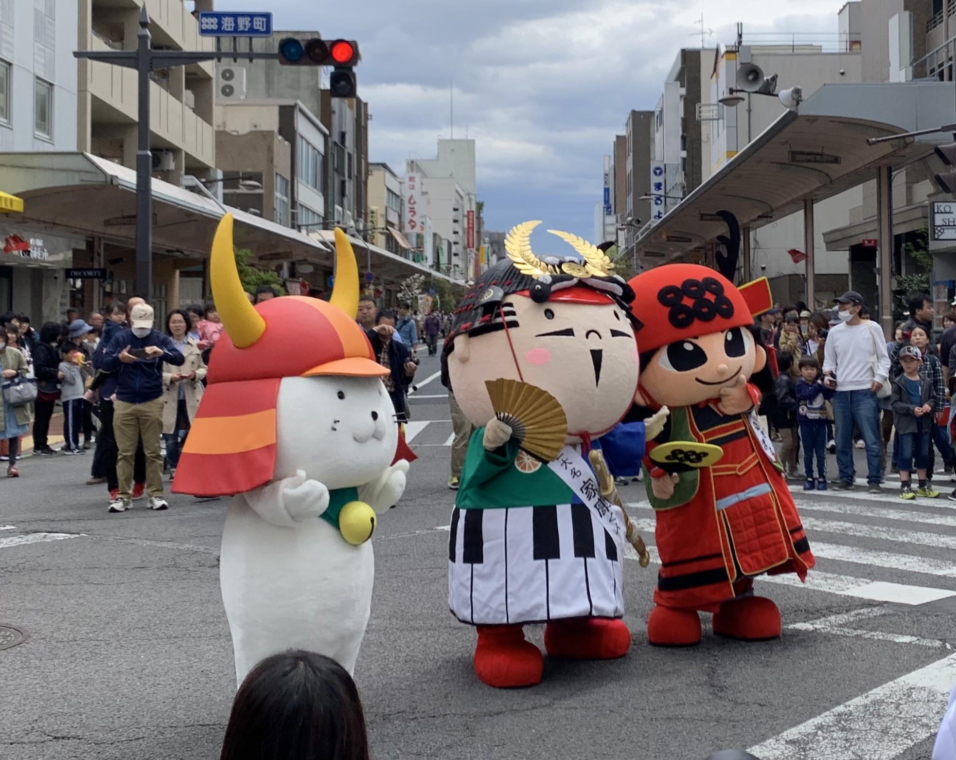 上田真田まつりに行ってきました!!